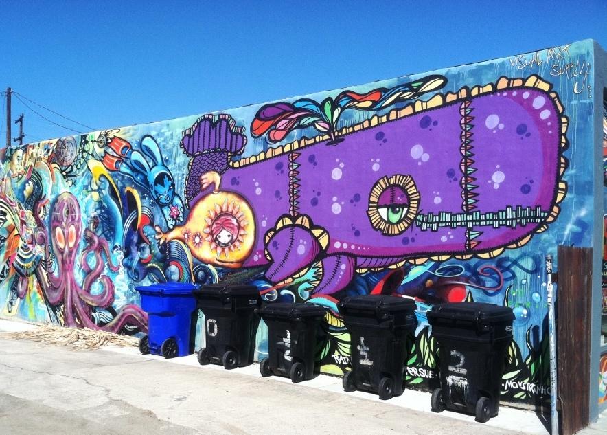 mural down the street