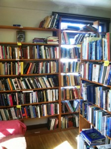 upstairs books