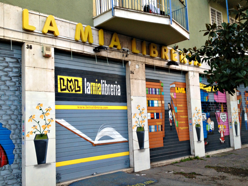 la mia libreria rome